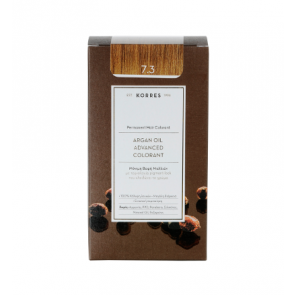 Korres Argan Oil Advanced Colorant 7.3 Ξανθό Χρυσό/Μελί