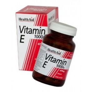 Health Aid Vitamin E 1000iu 670mg
