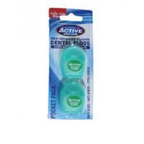 Active Oral Care Dental Floss Pocket Pack