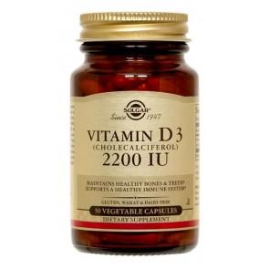 Solgar Vitamin D3 2200 IU