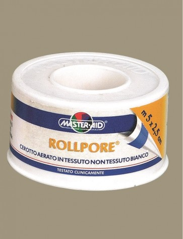 Master-Aid Rollpore 5m x 1,25cm  by Master-Aid