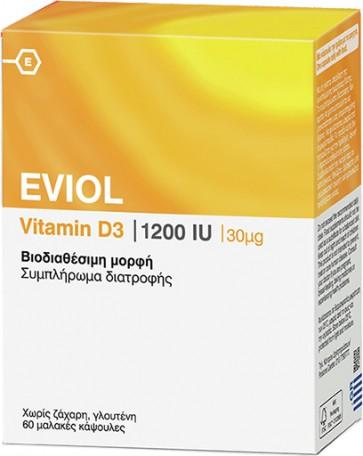 Eviol Vitamin D3 1200iu 30mcg  by Eviol