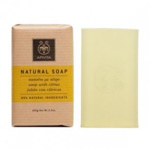Apivita Natural Soap With Citrus