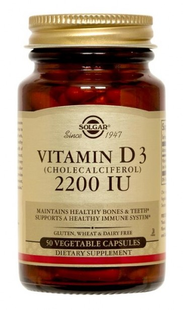 Solgar Vitamin D3 2200 IU by Solgar